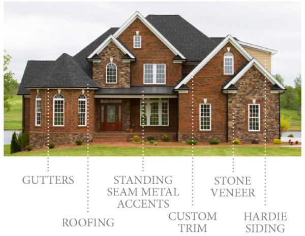 Parade Of Homes 2013 Best Exterior Rempfer Constructionrempfer Construction Inc