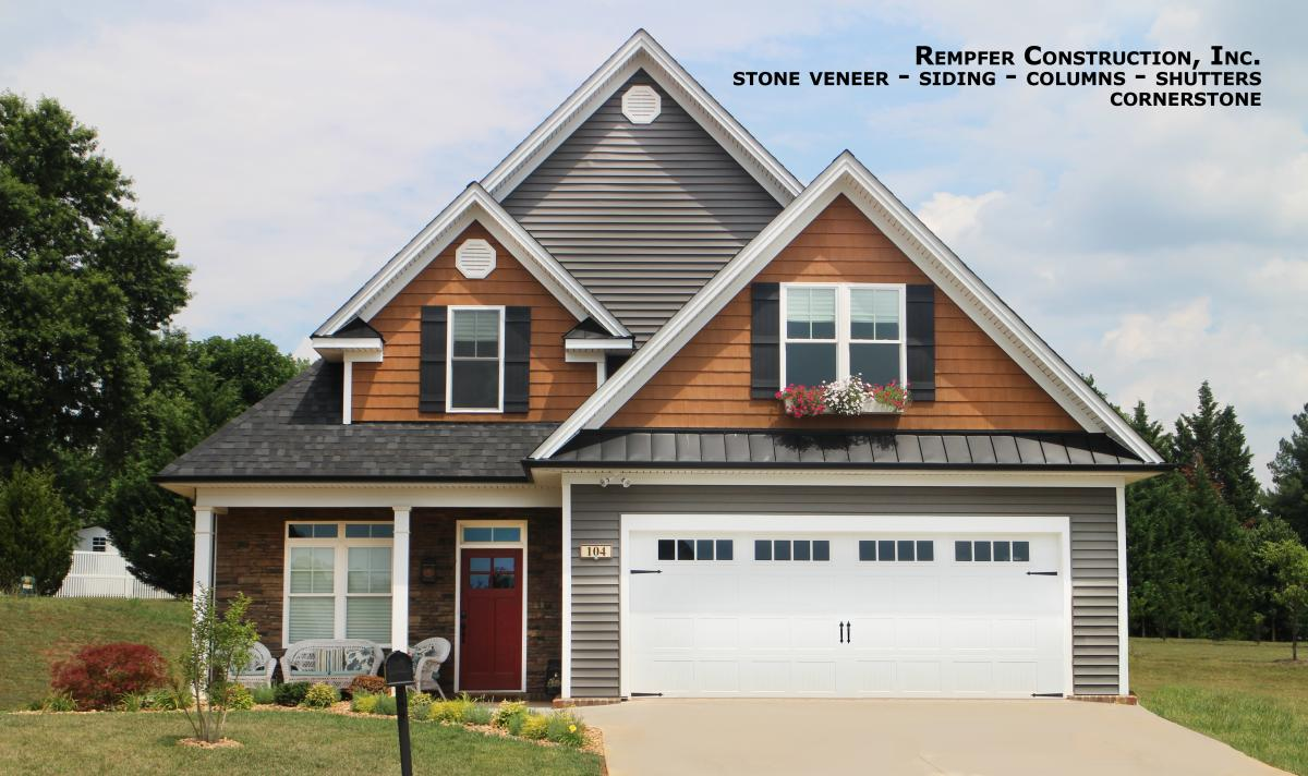 Vinyl Siding Services Rempfer Construction Inc